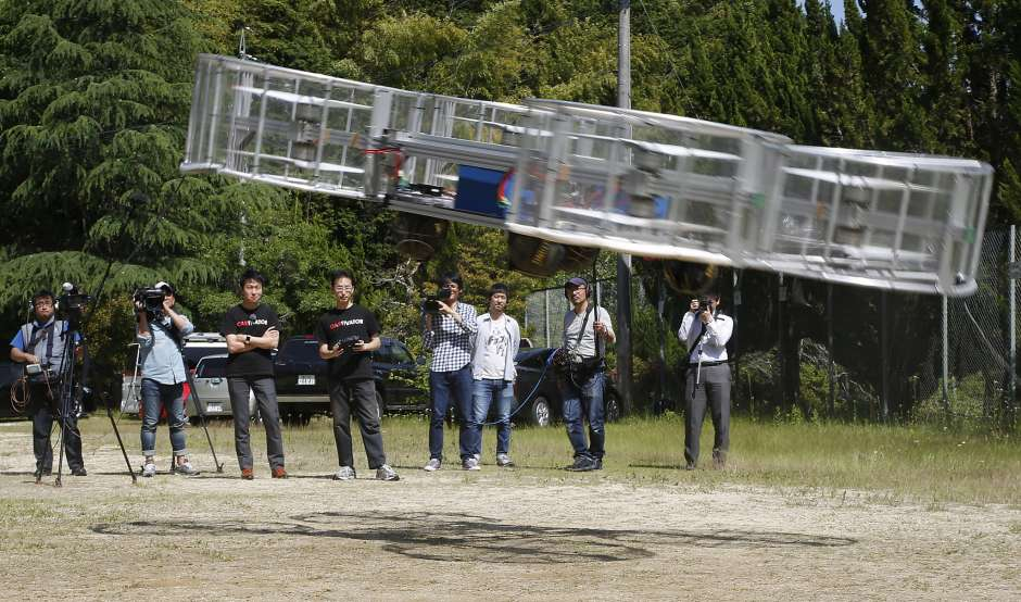 Japan officially backs 'flying car' research